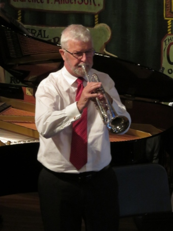 Dick Murray on trumpet