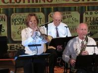 Nancy Boyle on cornet