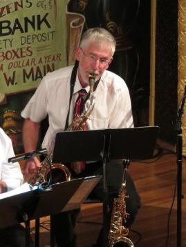 Les Hoffman on saxophone
