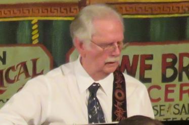 Carroll Sigler on guitar