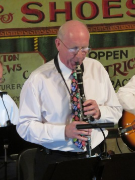 Dick Trexel on clarinet