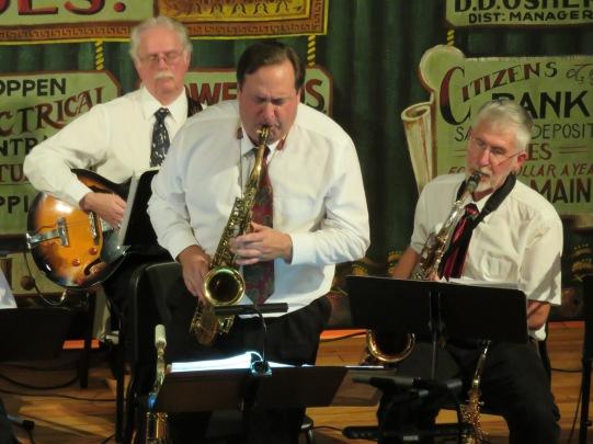 John Carey on saxophone